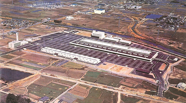 1977年奈良中央卸売市場開場