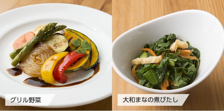 加熱調理品 例)惣菜パーツ