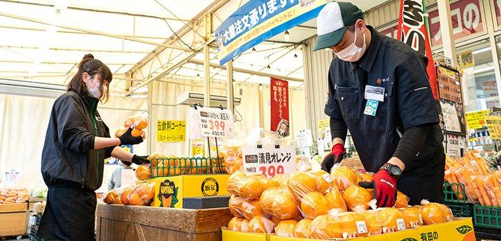 小売店舗向け野菜・果実