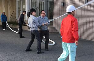 消防訓練・奈良池沢工場